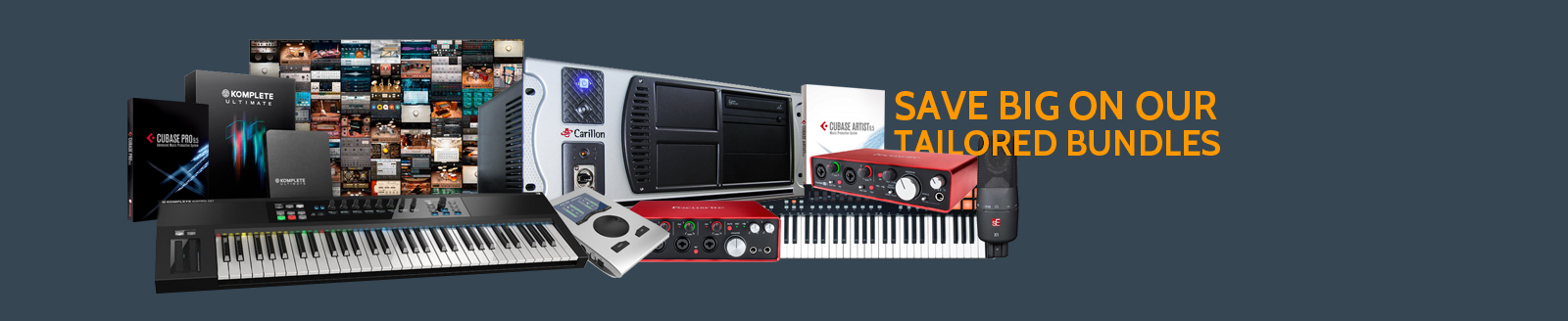 DAW computer packages with big savings