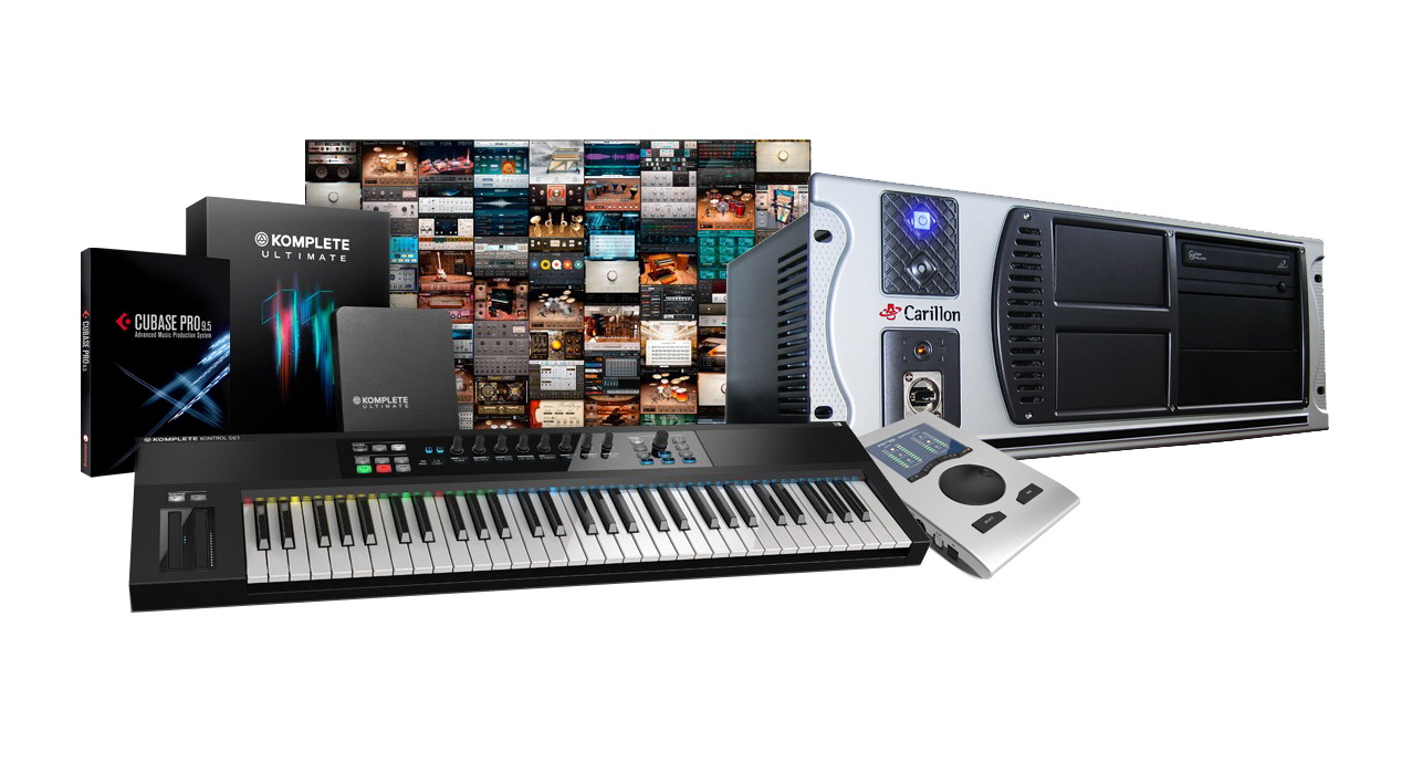 Professional music composer PC with RME, Cubase and Native Instruments