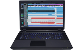 music production laptop computer
